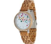 -Uhren Analog Quarz One Size Holz 88139194