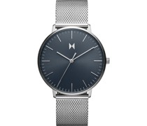 -Uhren Analog Quarz Silber 32016132
