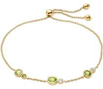 -Armband 375er Gelbgold 2 Peridot One Size 87991261