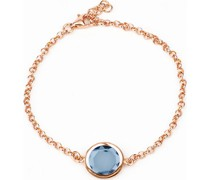 -Armband 925er Silber 1 Farbstein Rosa 32010560 Armbänder & Armreifen