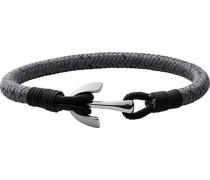 -Armband Perlon/Nylon, Edelstahl One Size 88237307
