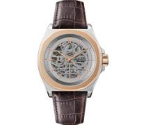 -Uhren Analog Automatik Schwarz 32018097
