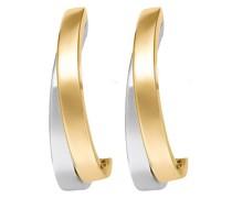 -Ohrstecker 585er Gelbgold, Weißgold One Size 83140550