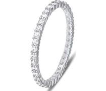 -Damenring Metall 0 Kristalle 55 32005474