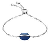 -Armband Edelstahl Glasstein One Size 87925463