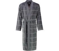 Bademantel Kimono Karo 2845 stein - 77