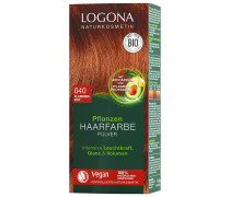 Pulver 040 Flammenrot Haarfarbe 100g