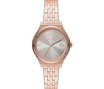 -Uhren Analog, analog Quarz Weiß 32015761
