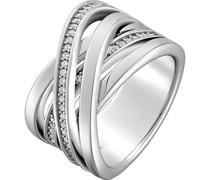 Silver-Damenring 925er Silber 50 Zirkonia 51 32005353