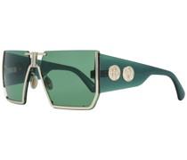 Ästhetische Sonnenbrille Grün