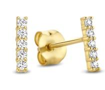 Rivoli Ohrringe - 585 Gold / 14 Karat
