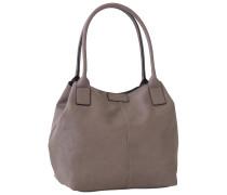 1 Stück  MiriPU Shopper Taupe Tasche