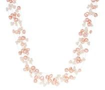 Halskette Sterling Silber Süßwasser-Zuchtperle silber
