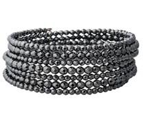 Armband Edelstahl Pyrit silber
