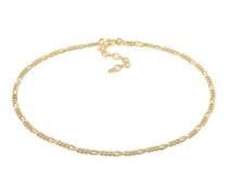 Fußschmuck Figarokette Sommer Strand Zeitlos Basic 925 Silber