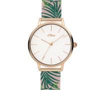 -Uhren Analog Quarz Bicolor Bicolor 32012479