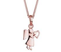 Halskette Engel Herz Talisman Symbol 925 Sterling Silber