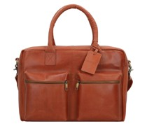 Vintage Alex Aktentasche Leder 39 cm Laptopfach