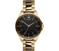 -Uhren Analog Quarz Gold 32014830