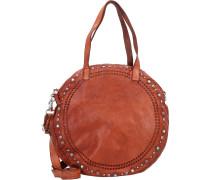 Handtasche Leder 34 cm
