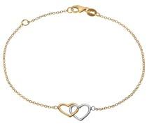 Gold-Armband 375er Gelbgold, Weißgold One Size 87377741