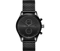 -Uhren Analog Quarz Schwarz 32001329