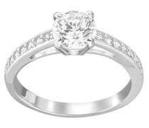 -Damenring Metall 1 Kristalle 60 32000420