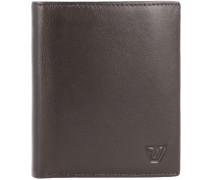 Avana Geldbörse RFID Leder 9,5 cm Portemonnaies Braun