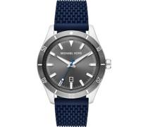 -Uhren Quarz Schwarz Schwarz Silikon 32013285