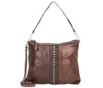 Handtasche Leder 27 cm