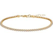 -Armband 375er Gelbgold Zirkonia One Size 87010473