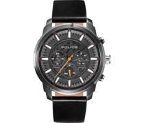 -Uhren Analog One Size Leder 87669521