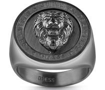 -Herrenring LION HEAD COIN Edelstahl 62 32011726