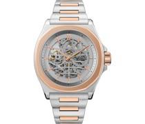 -Uhren Analog Automatik Silber 32018098