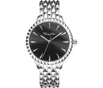 -Uhren Analog Quarz One Size Edelstahl 87466736