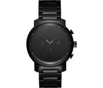 -Uhren Analog Quarz Schwarz 32002095