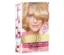 172 ml  Nr. 9 - Hellblond Creme Color Haarfarbe