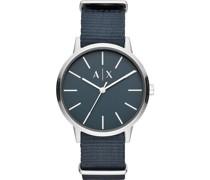 -Uhren Analog Quarz Blau 32010698
