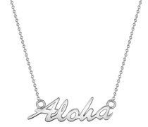 Halskette Aloha Sterling Silber silber