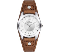 -Uhren Analog Quarz One Size Kunstleder 32003060