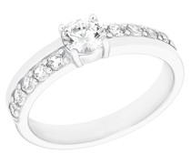 Ring für aus 925 Sterling Silber mit Zirkoniasteinen