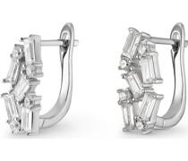 Silver-Ohrstecker 925er Silber 18 Zirkonia One Size 88033281