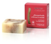 Pflanzenöl-Seife - Wildrose & Mandel 100g