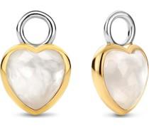 -Creolen 925er Silber Perlmutt One Size 88267214
