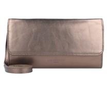 Basic Clutch Tasche Leder 23 cm