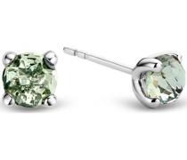 -Ohrstecker 925er Silber 2 Kristall One Size 88015371