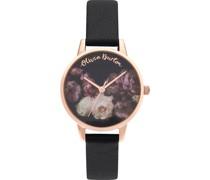 -Uhren Analog Quarz One Size Leder 87887502