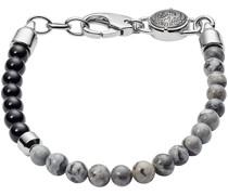 -Herrenarmband Edelstahl Silber 32002627