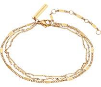 -Armband Edelstahl Gelbgold 32014936