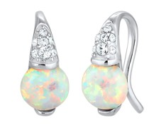 Ohrringe Opal Kristalle 925 Sterling Silber